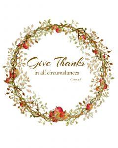 """""""An Attitude of Gratitude"""""""